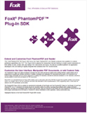 Foxit PhantomPDF Plug-In SDK