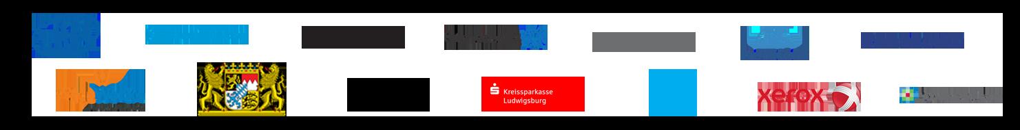 Foxit Client Logos