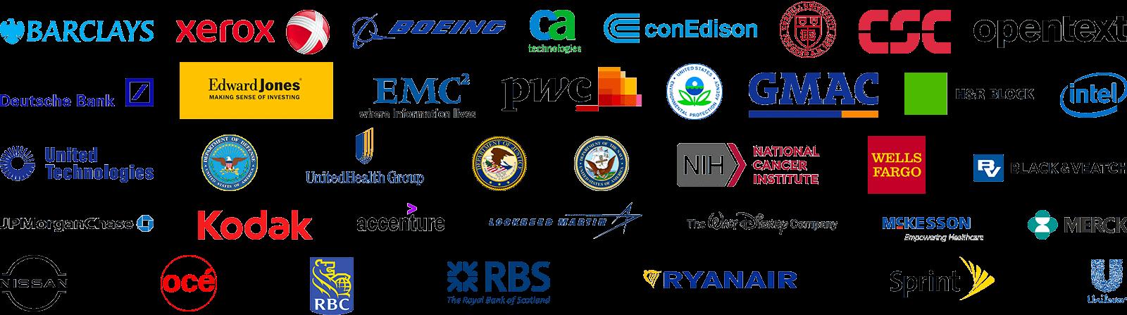 Enterprise Automation Customer Logos